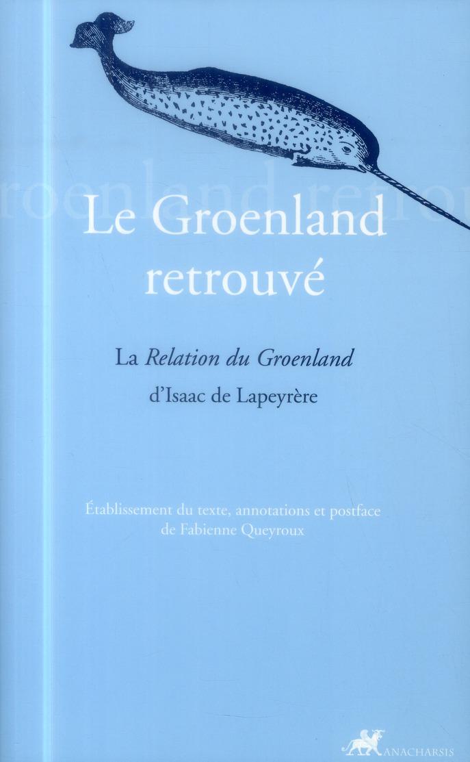 GROENLAND RETROUVE (LE)