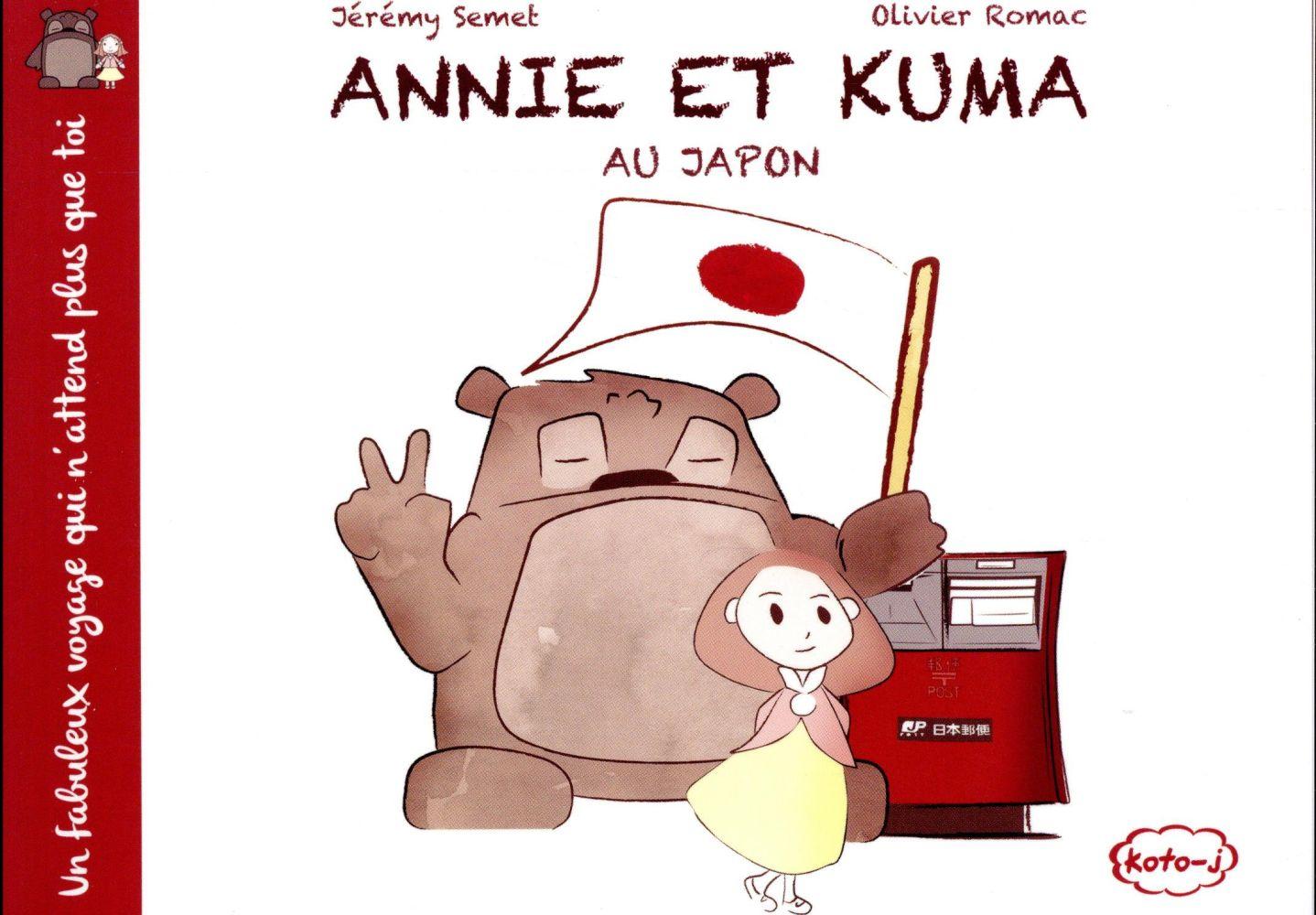 ANNIE ET KUMA T01 ANNIE ET KUMA AU JAPON