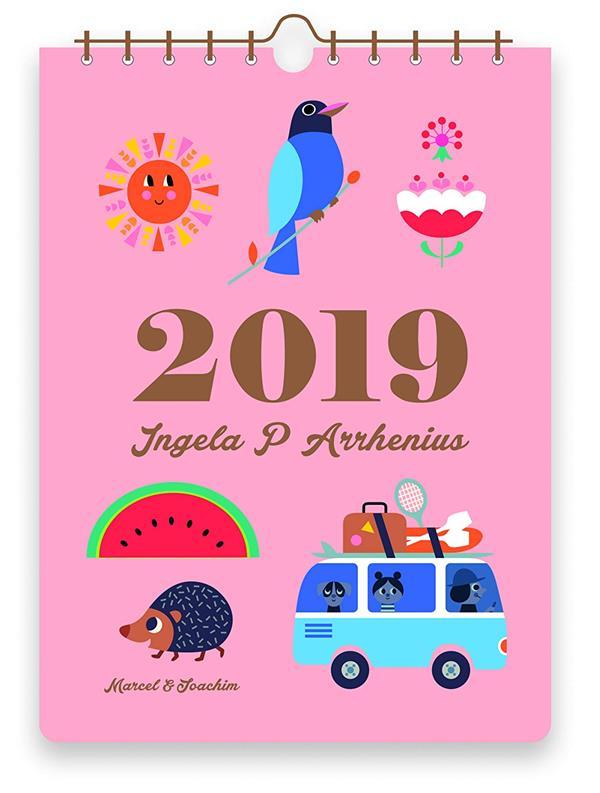 CALENDRIER 2019 INGELA P ARRHENIUS
