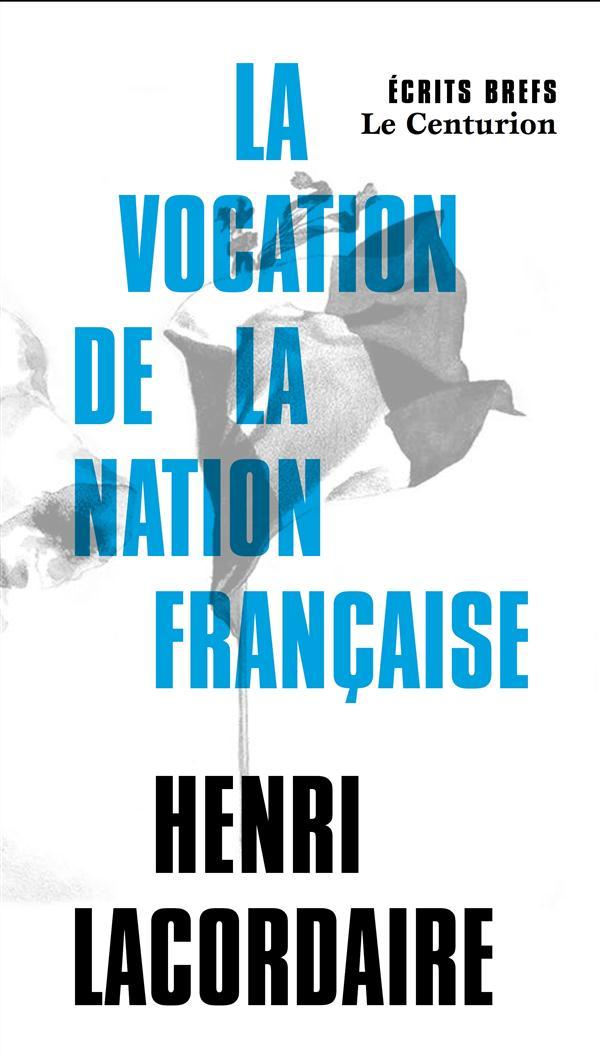 DISCOURS SUR LA VOCATION DE LA NATION FRANCAISE