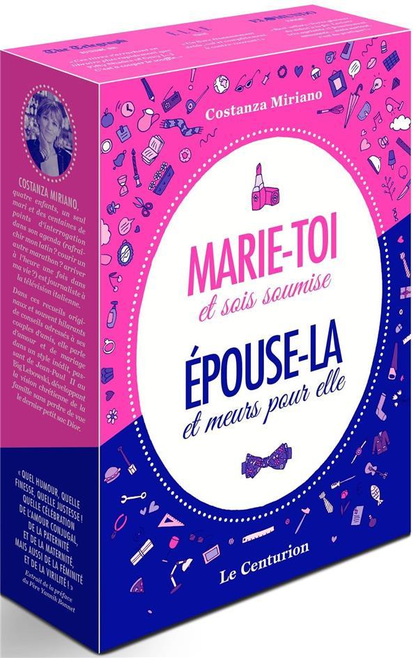 LE COFFRET DU COUPLE : COFFRET DE MARIE-TOI ET SOIS SOUMISE. PRATIQUE EXTREME POUR FEMMES ARDENTES!