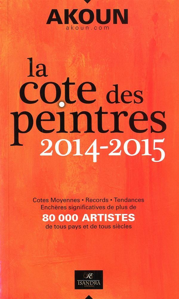 AKOUN LA COTE DES PEINTRES 2014-2015