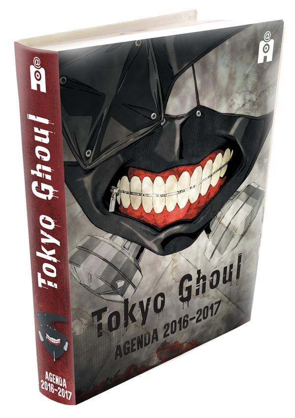 AGENDA SCOLAIRE TOKYO GHOUL 2016/2017