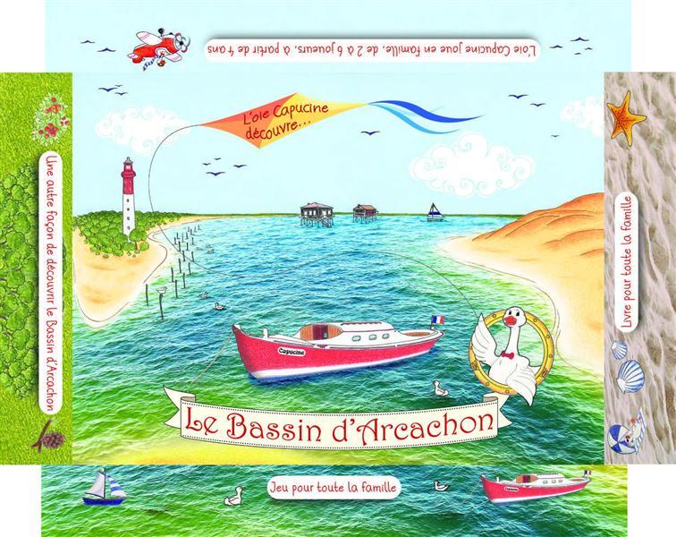 LE BASSIN D'ARCACHON  COFFRET LIVRE JEU