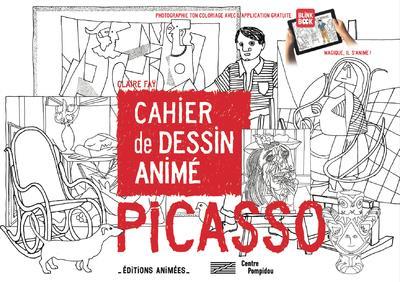 CAHIER DE DESSIN ANIME - PICASSO