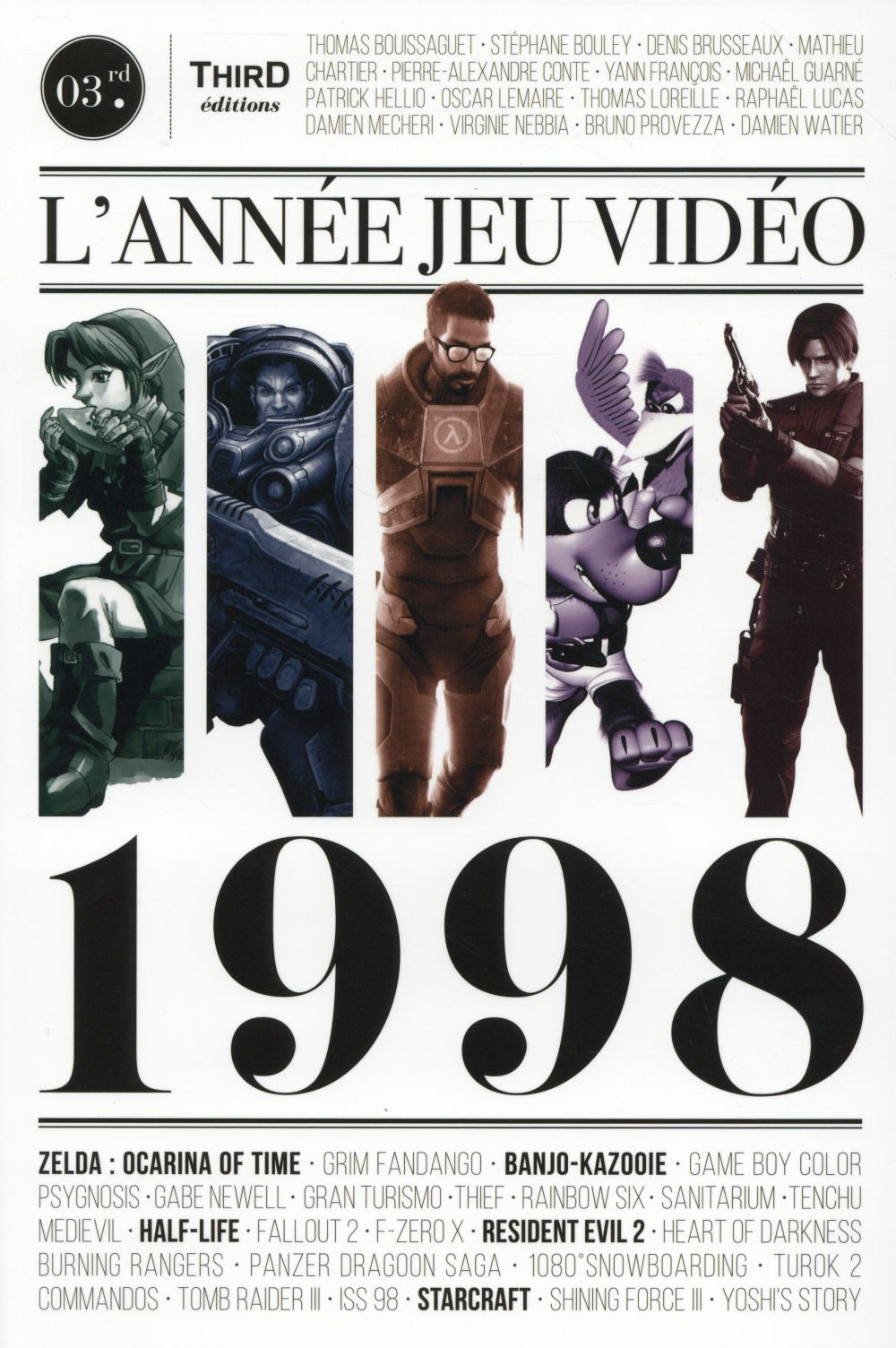L ANNEE JEU VIDEO 1998