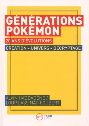 GENERATIONS POKEMON 20 ANS D EVOLUTIONS