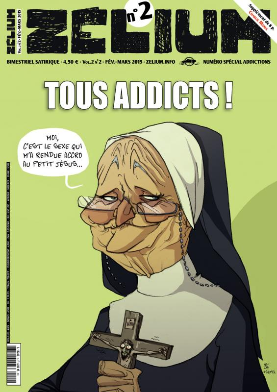 ZELIUM N 2, MANIES, ADDICTIONS ET DEPENDANCES