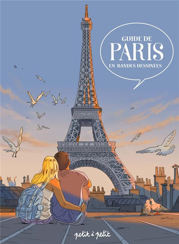 PARIS EN BD - GUIDE DE PARIS EN BANDES DESSINEES