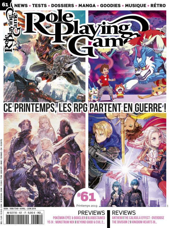 ROLE PLAYING GAME N 61 AVRIL/JUIN 2019