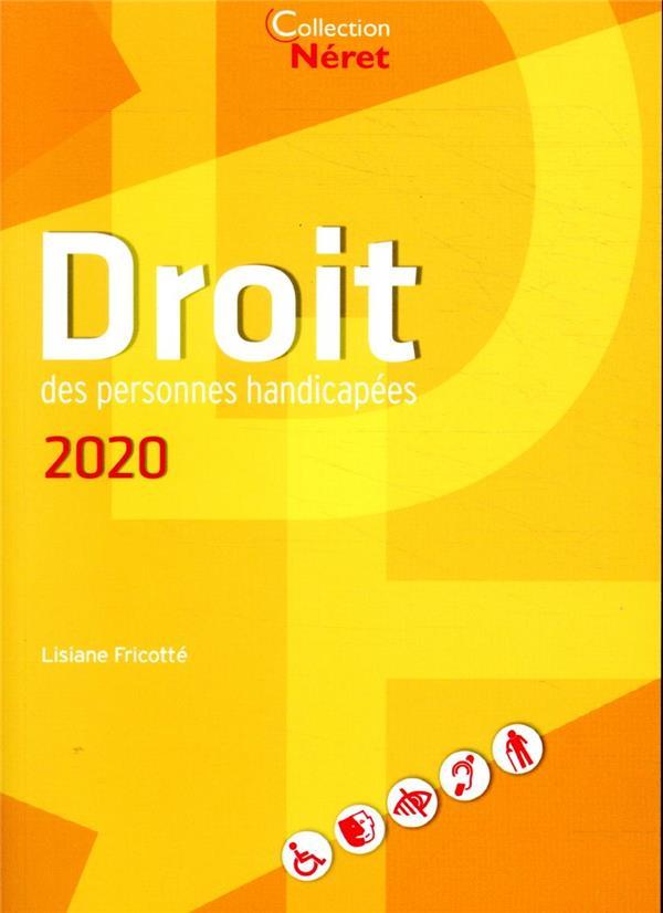 DROIT DES PERSONNES HANDICAPEES 2020