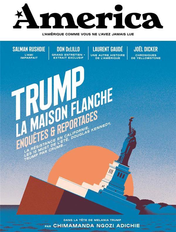 AMERICA - VOLUME 02 - TRUMP LA MAISON FLANCHE