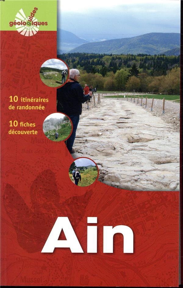 AIN - 10 ITINERAIRES DE RANDONNEE  10 FICHES DECOUVERTE