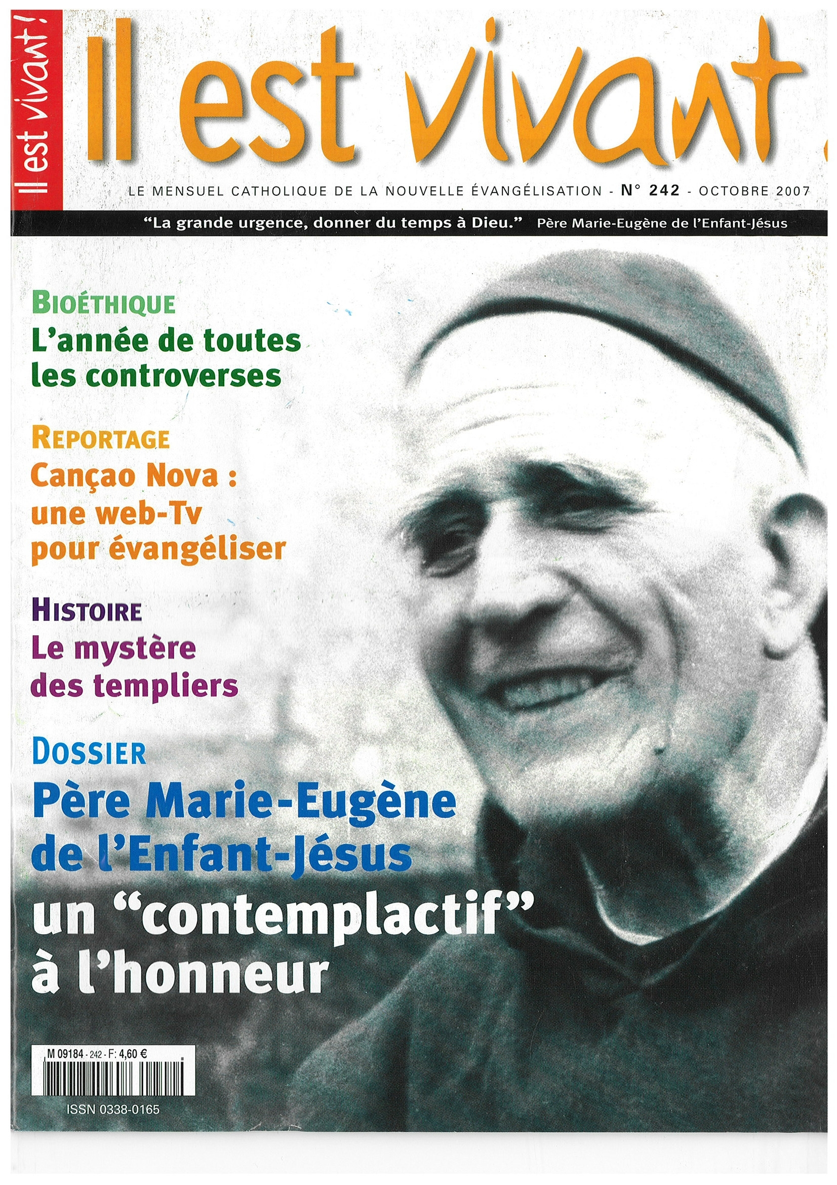 N 242  - PERE MARIE-EUGENE DE L'ENFANT JESUS UN CONTEMPLATIF A L'HONNEUR