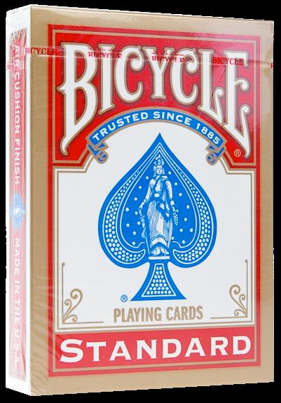 BICYCLE POKER - DOS ROUGE