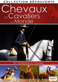 CHEVAUX ET CAVALIERS - 5 DVD  DU MONDE