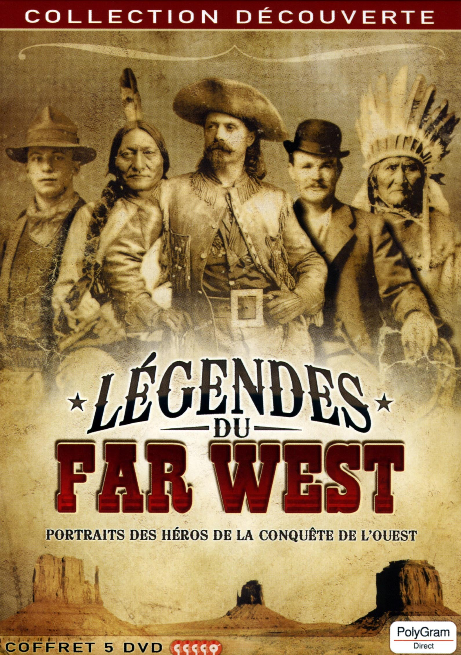 LEGENDES DU FAR WEST - 5 DVD
