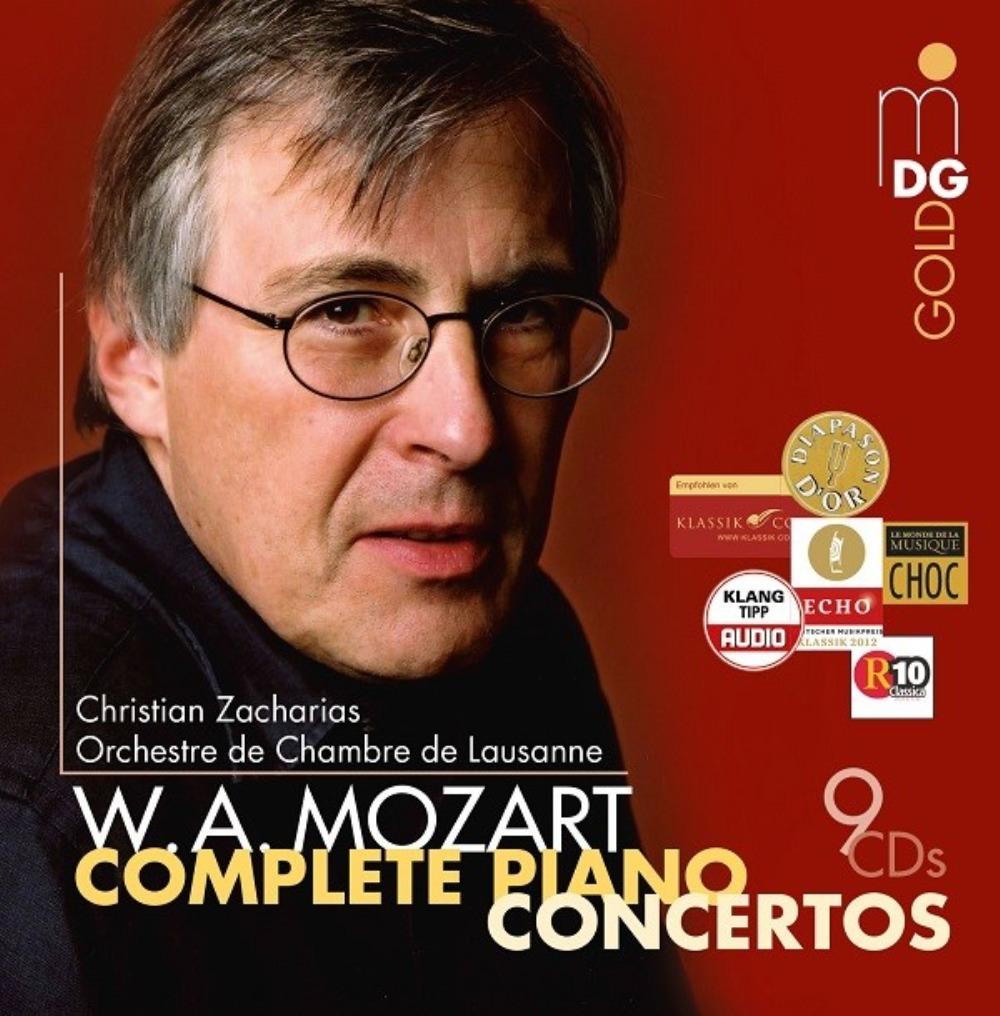 MOZART/INTEGRALE DES CONCERTOS POUR PIANO