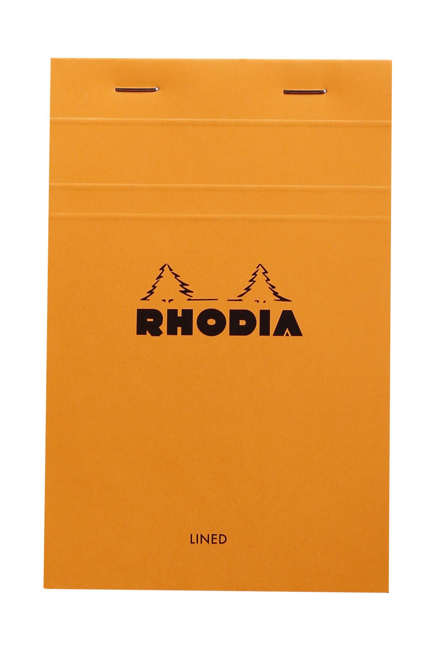 BLOC N 14 RHODIA ORANGE 11X17 80 F LIGNE - 14600C