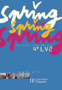 SPRING 4E LV2 - ANGLAIS - CD AUDIO CLASSE - EDITION 2004