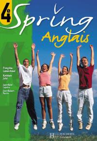 SPRING 4E LV1 - ANGLAIS - CD AUDIO CLASSE - EDITION 2004