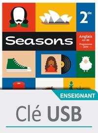 SEASONS 2NDE - CLE USB CLASSE - ED. 2019