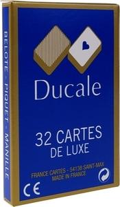 JEU 32 CARTES DE LUXE DUCALE BOITE CARTON