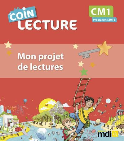 Coin lecture cm1 cahier eleve - 20 exemplaires + 1 tableau de bord (pcf)