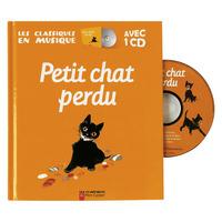 ALBUM ET CD - PETIT CHAT PERDU