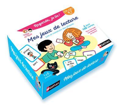 Mes jeux de lecture - lire et construire des phrases