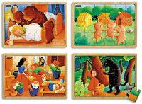 PUZZLES BOIS LES CONTES 2