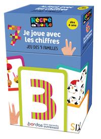 RECRE EN'BOITE JE JOUE AVEC LES CHIFFRES JEU DES 7 FAMILLES -DES 4 ANS-