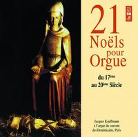 21 NOELS POUR ORGUE