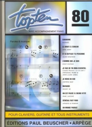 TOP TEN N80 --- CHANT ET ACCOMPAGNEMENT