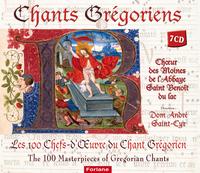 COFFRET CHANT GREGORIEN-LES 100 CHEFS-D'OEUVRES 7 CDS