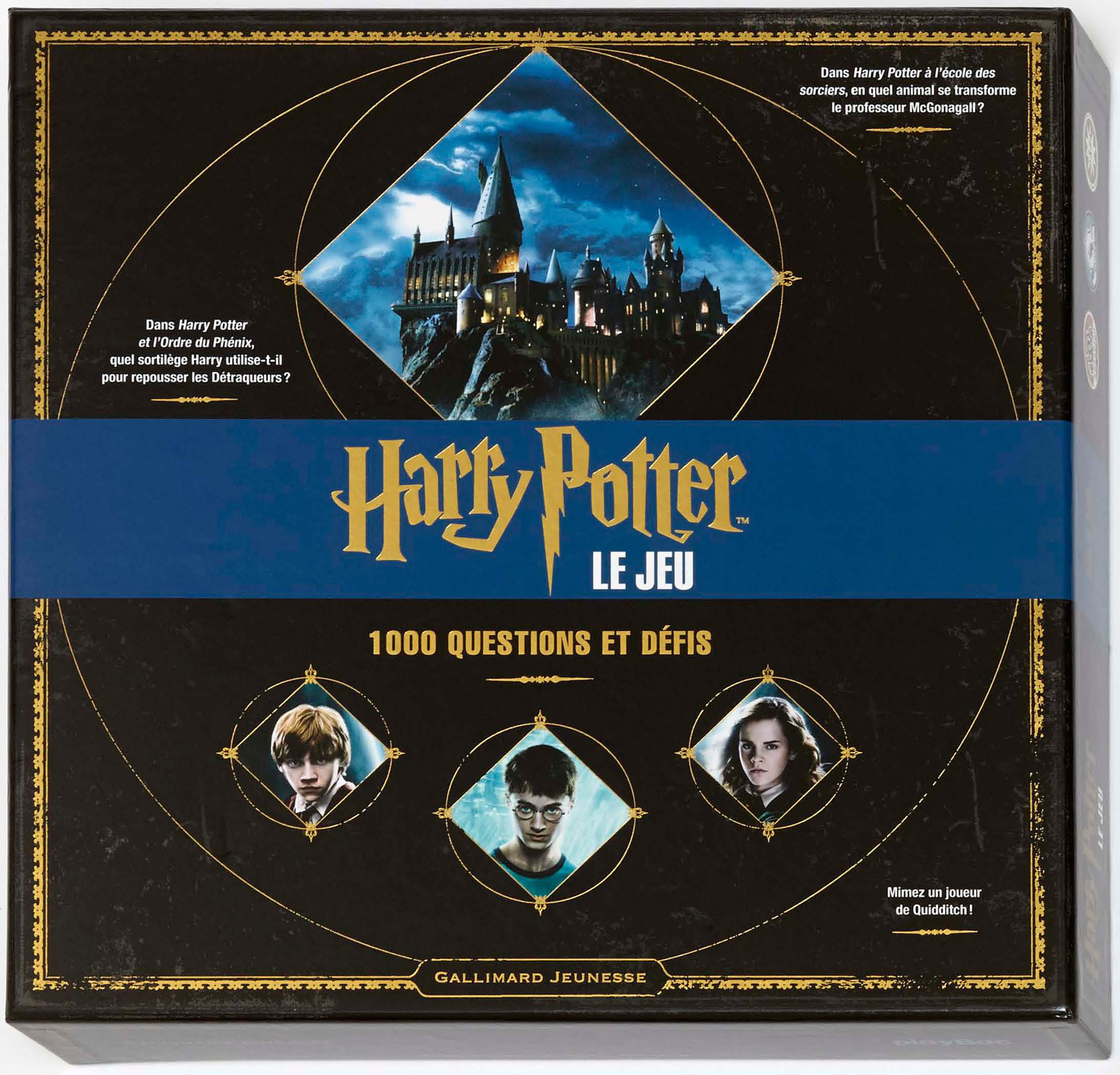 HARRY POTTER : LE JEU - 1 000 QUESTIONS ET DEFIS