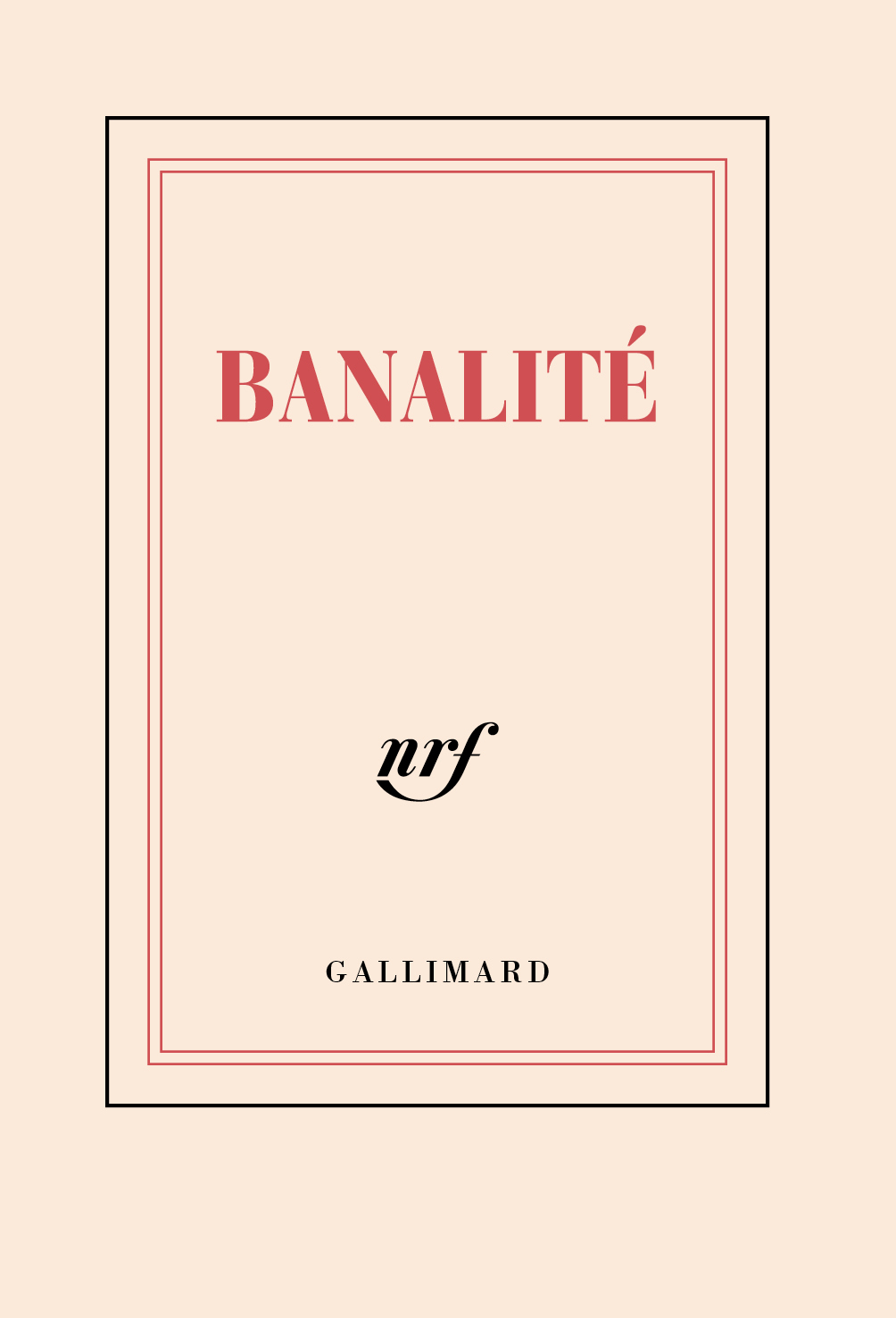 "CARNET POCHE LIGNE ""BANALITE"" (PAPETERIE)"