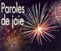 PACK PAROLES DE JOIE 5EX MP131
