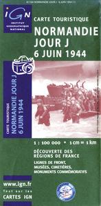 NORMANDIE JOUR J (6 JUIN 1944) 1/100.000