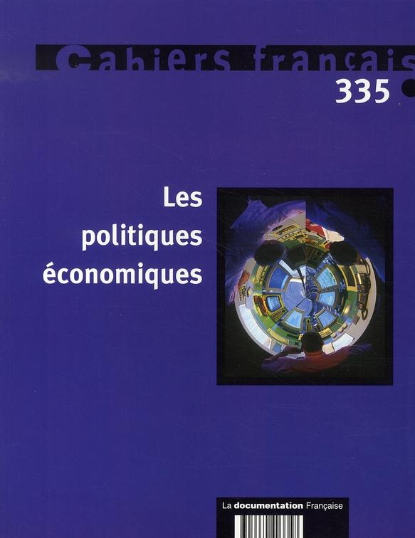 LES POLITIQUES ECONOMIQUES N 335