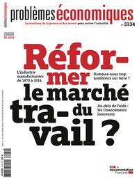 REFORMER LE MARCHE DU TRAVAIL - PE 3134