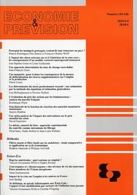 ECONOMIE ET PREVISION N 195-196 2010/4-5
