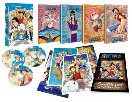 ONE PIECE - PARTIE 1 - ARC 1 A 7 - EDITION LIMITEE COLLECTOR - 33 DVD