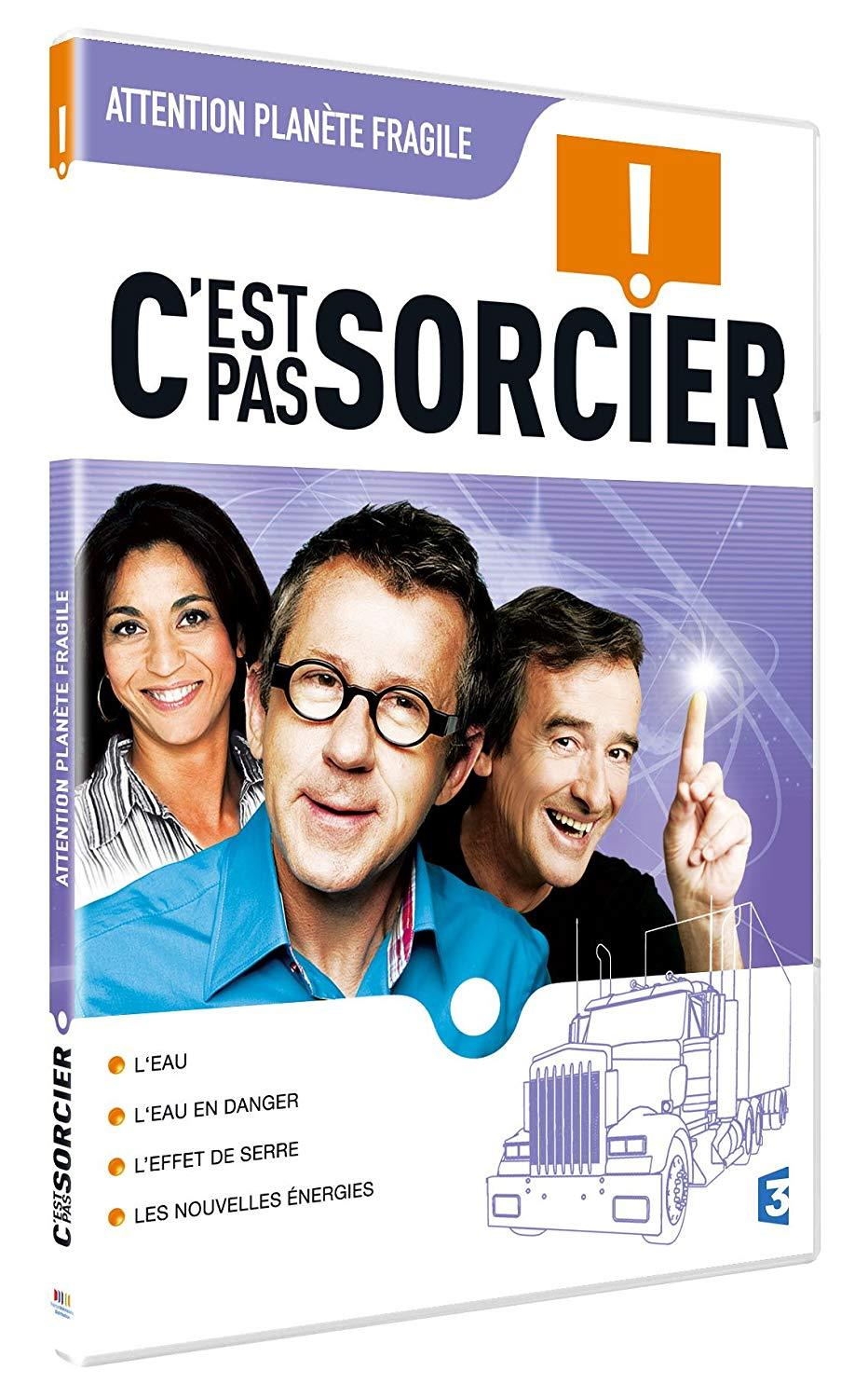 C'EST PAS SORCIER - ATTENTION - PLANETE FRAGILE - DVD
