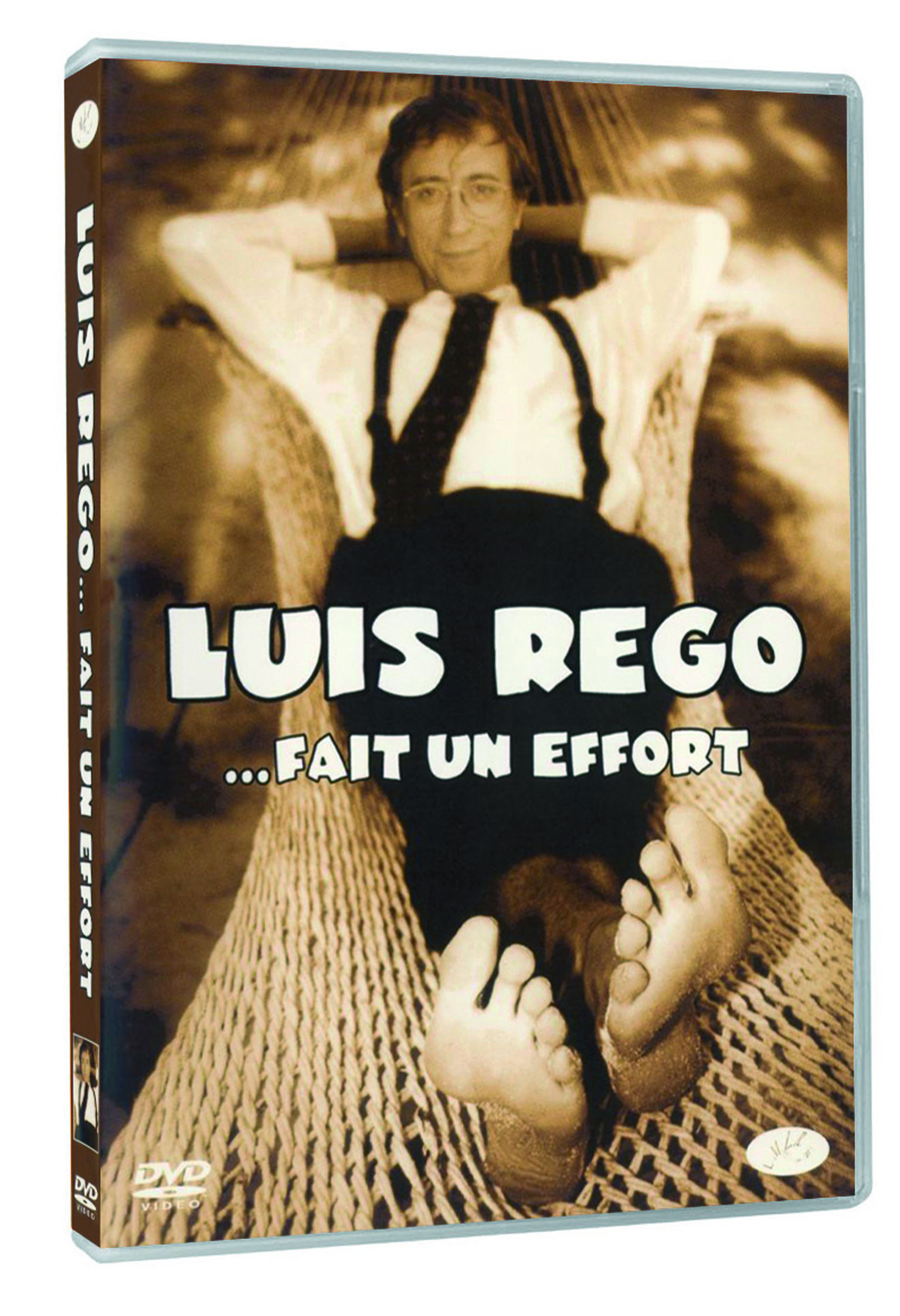 LUIS REGO. FAIT UN EFFORT-DVD
