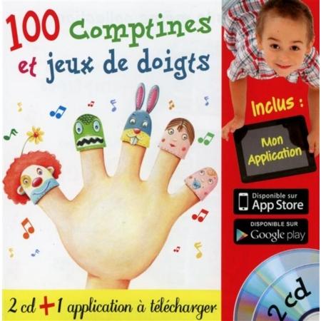 100 COMPTINES ET JEUX DE DOIGTS