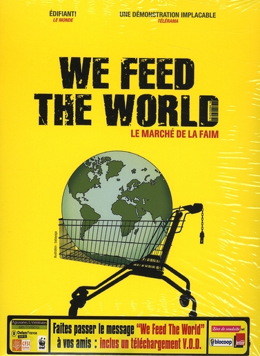 WE FEED THE WORLD - DVD+LIVRET