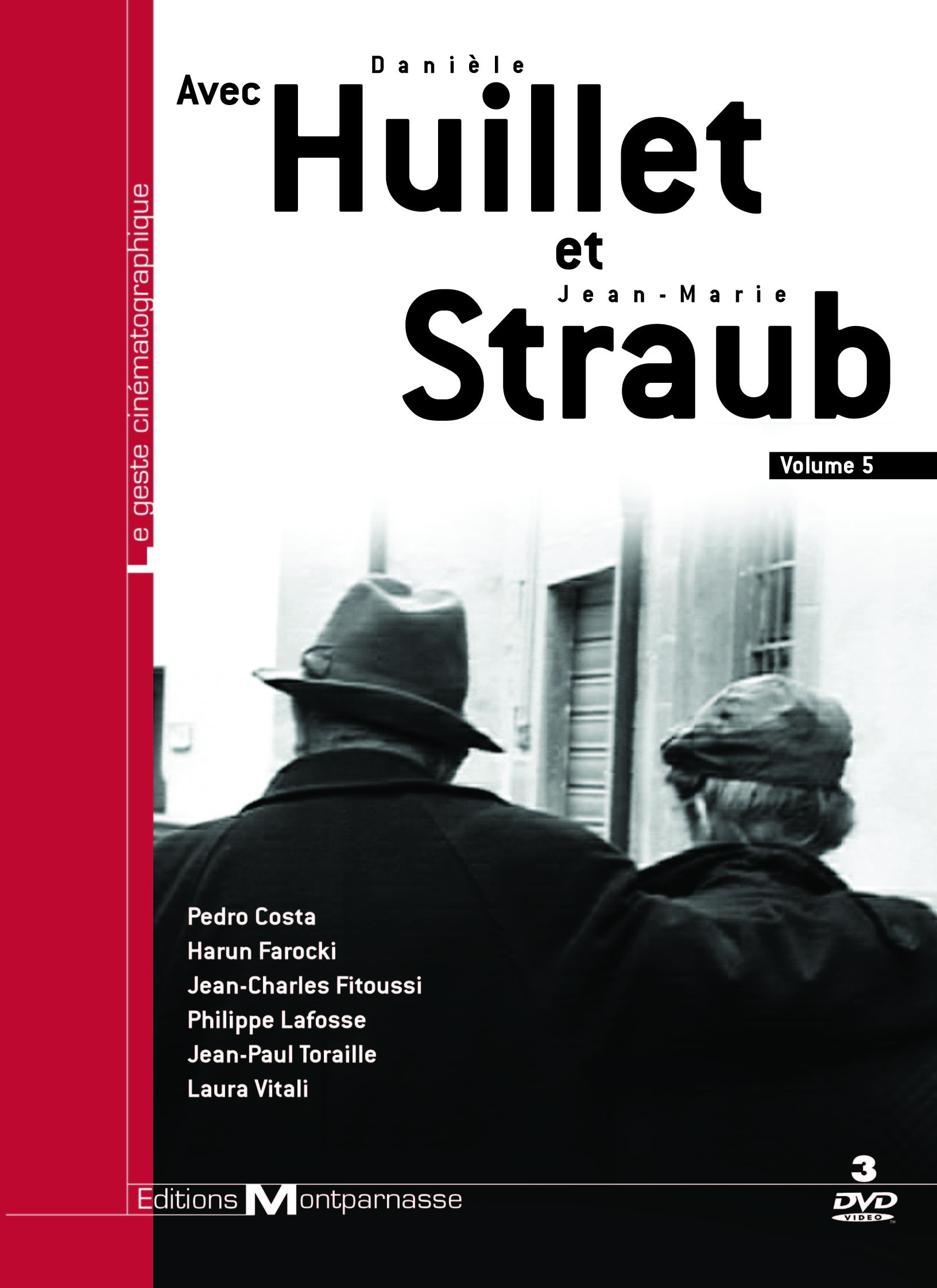 MO - HUILLET ET STRAUB - AVEC HUILLET ET STRAUB - 3 DVD