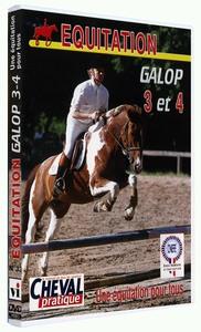 EQUITATION GALOPS 3 & 4 - DVD