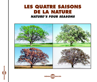 LES QUATRE SAISONS DE LA NATURE SUR CD AUDIO